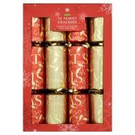 Christmas crackers £3.00 @ Asda for 12 crackers.