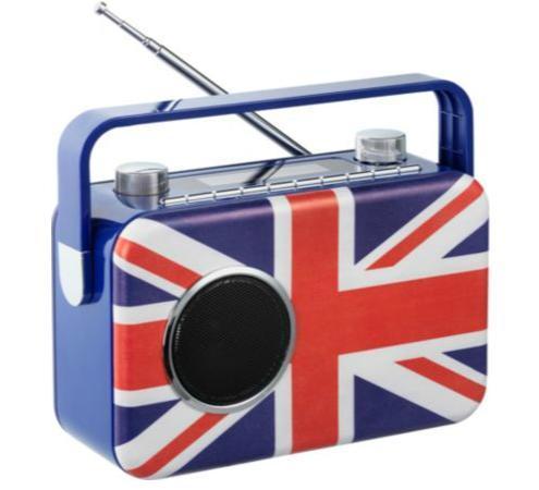 Argos - Bush DAB Radio - Union Jack (Reduced from £49.99)