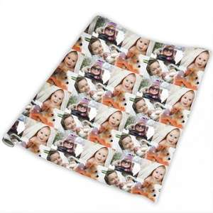 Personalised wrapping paper (24x36 inches) @ £3 in Asda