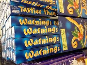 Yard of Jaffa cakes £3 Tesco in-store