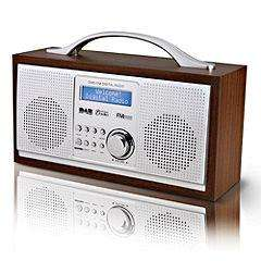 Red NE-3111R DAB Wooden Radio Half Price £29.99 @ Sainsburys