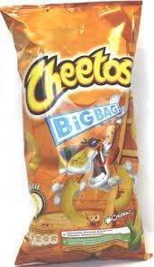 CHEETOS!! Cheese or tomato ketchup flavour :) £1.00 90g Big Bag Instore @ Tesco