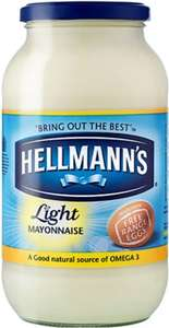 Hellman's Real / Light Mayonnaise (800g) was £3.19 now £1.59 @ Sainsbury's