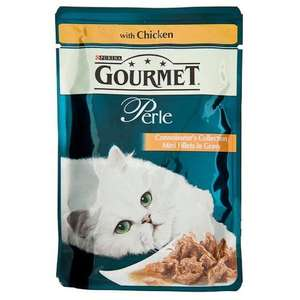 Gourmet Perle 48 pouches of Cat Food £10.91 Amazon