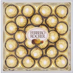 Ferrero Rocher (300g) (24) chocolates was £6.00 now £3.99 @ Sainsbury's