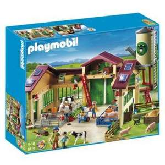 Playmobil farm 5119 (Farm with silo) only £59.98 at sainsbury.co.uk