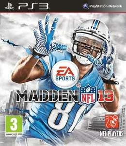 PS3 Madden NFL 13 Amazon £25