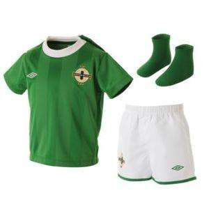 Baby Football Kits - NI & Wales available limited sizes £7.94 @ Littlewoods on Ebay