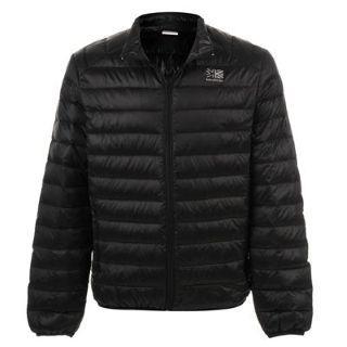 Karrimor Lightweight Down Jacket Mens - Black £22 @ ebay  sportsdirect_outlet