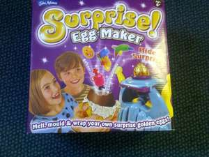 John Adams Surprise Chocolate Egg Maker - RRP £17.99 only £6.99 in Home Bargains