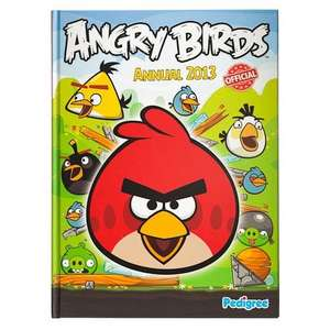 Angry Birds Annual 2013 £1 at Poundland