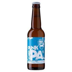 "24 x 330ml cans Brewdog Beer: ""77"" lager £9 or Punk IPA £15 @ Makro instore"