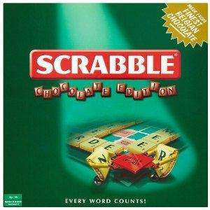Scrabble with (Belgian) Chocolate Pieces (170g), £6.46 @ Amazon UK