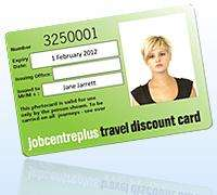 Jobcentre Plus Travel Discount Card - 50% off all Rail fares!
