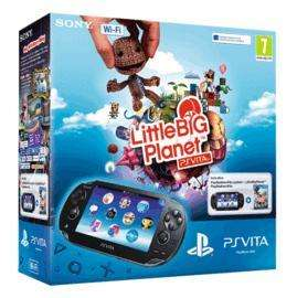 PS Vita (wifi) + little big planet + 4gb memory card £142.41 + delivery to the UK (Amazon.it)