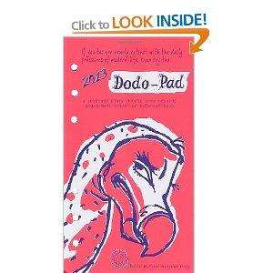 Dodo pad 2013 Filofax personal diary insert only £6.90 at amazon