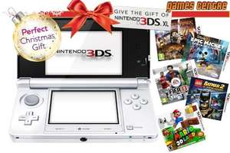 Nintendo 3DS XL Mario Kart 7 Bundle with 5 Extra Games for £269 @ Gamecentre.co.uk via Nectar daily deals