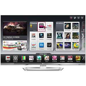 LG 47LM669T LED HD 1080p 3D Smart TV, 47 Inch with Freeview HD and 5x 3D Glasses - Electro Centre £799.00 - JL have price matched (£999.95)