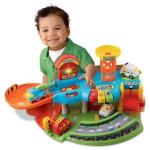 Vtech toot toot garage @ Bambino Direct