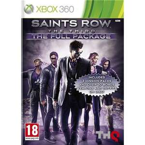 Saints Row The Third The Full Package Xbox 360 and PS3 Shopto.net