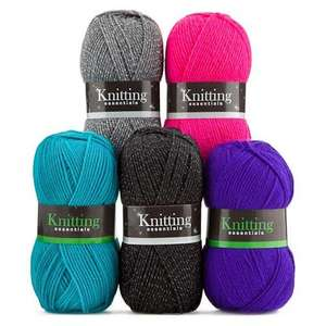 Knitting Yarn £1.00 each or 3 for 2 @ Poundland