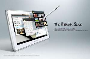 Samsung Galaxy Note 10.1 inch Tablet - White £317.00 @ Amazon