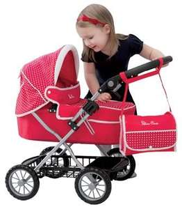 Silver Cross Ranger Dolls Pram in Poppy - £26.99 Smyths toys plus £5 discount code and quidco