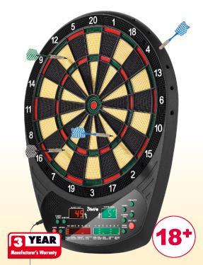 Electronic Dartboard £24.99 @ Lidl