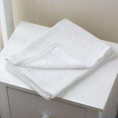 TU @ Sainsburys baby cot/cotbed 100% cotton white cellular blanket £4 Free click and collect