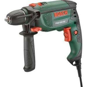Bosch PSB Corded Hammer Drill - 650W. was £69.99 NOW £31.99 @ Argos