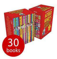 Horrid Henry's Loathsome Library Box Set - 30 Books £16 @ The Book People (RRP £147.70)