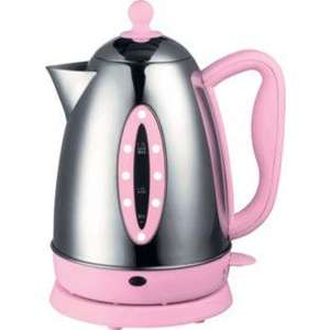 ARGOS Pretty Pink Polka Dot Kettle.  261/2324 Was £27.99 NOW £13.99