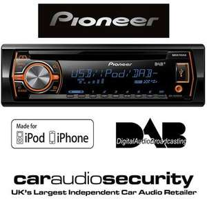 Pioneer DEH-X6500DAB Car CD Player with free magnetic roof antenna £84.99 from £300 @ Halfords