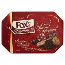 Fabulously Fox's 650g Biscuit Tin & Cadburys 380g Biscuit Tin - £2 @ Asda