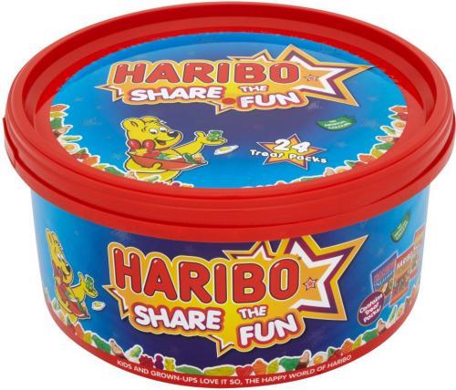 Haribo share the fun tub 720g Home Bargains