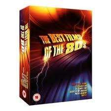 Best Of The 80s dvd boxset . THE KARATE KID, TOOTSIE, ST ELMO'S FIRE, THE SECRET OF MY SUCCESS, BACK TO THE FUTURE, and POLICE ACADEMY £4 @ tesco direct