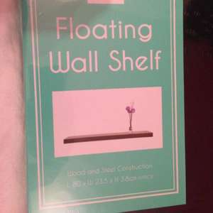 Floating shelf at home bargains £5.99
