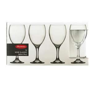 12 Pasabache Wine Glasses - £4 @ ASDA