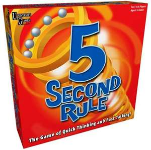 5 Second Rule Board Game (Great for Xmas) - £9.97 @ Amazon UK inc Del