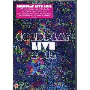 Coldplay Live 2012 CD and DVD for £6.50 @Tescodirect