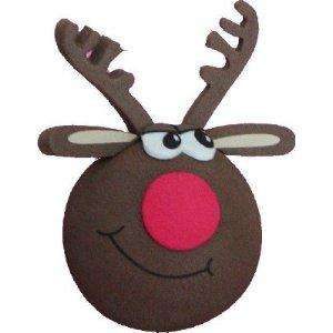 Rudolph Red Nose Reindeer Car Aerial Ball Antenna Topper £3.95 @ Amazon / Autobits
