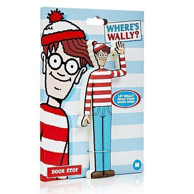 Wheres Wally door stop £4.76 delivered @debenhams