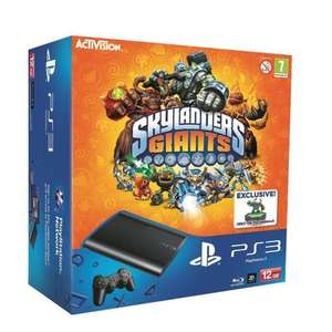 Sony PlayStation 3 12GB Super Slim Console with Skylanders Giants Bundle £139.99 Delivered from Amazon