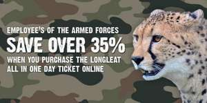 Christmas at Longleat - Armed forces/Emergancy services 35% off admission price
