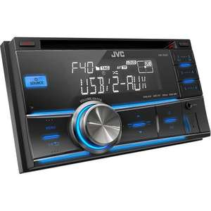 JVC KW-R400 2-DIN USB/CD Receiver with Dual Aux (Halfords)  WAS £239.99