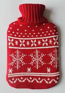 christmas hot water bottles £4 @ ASDA (+£2.95 postage or no postage when click and collect or buy in store)