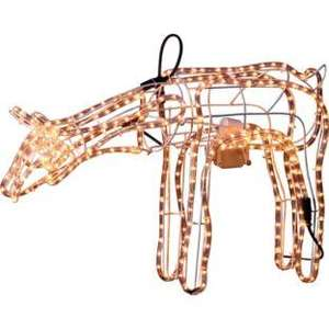 Outside light Grazing Moving Reindeer only £39.99 ' Argos  - was £79.99