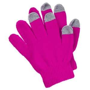 Touchscreen gloves £1 @ pound land