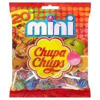 20 Assorted Flavours Christmas Mini Chupa Chup Lollipops 25p @ Asda.