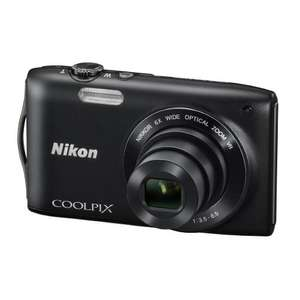 Nikon Coolpix S3300 camera £68 @ Amazon.it - 16MP, 6x Optical Zoom,  2.7 inch LCD